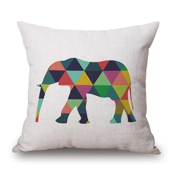 multi color animal pillow cases 1