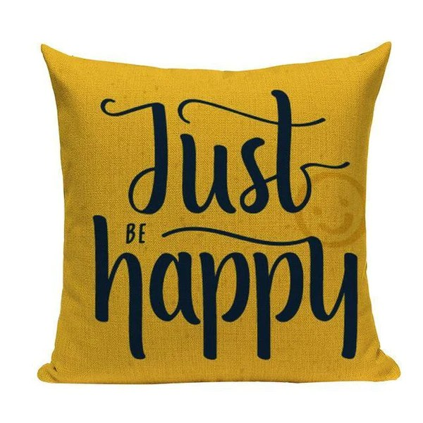mustard yellow quote pillow cases l70 1