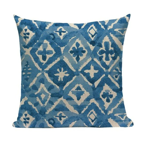 blue watercolor cushion covers l73 1