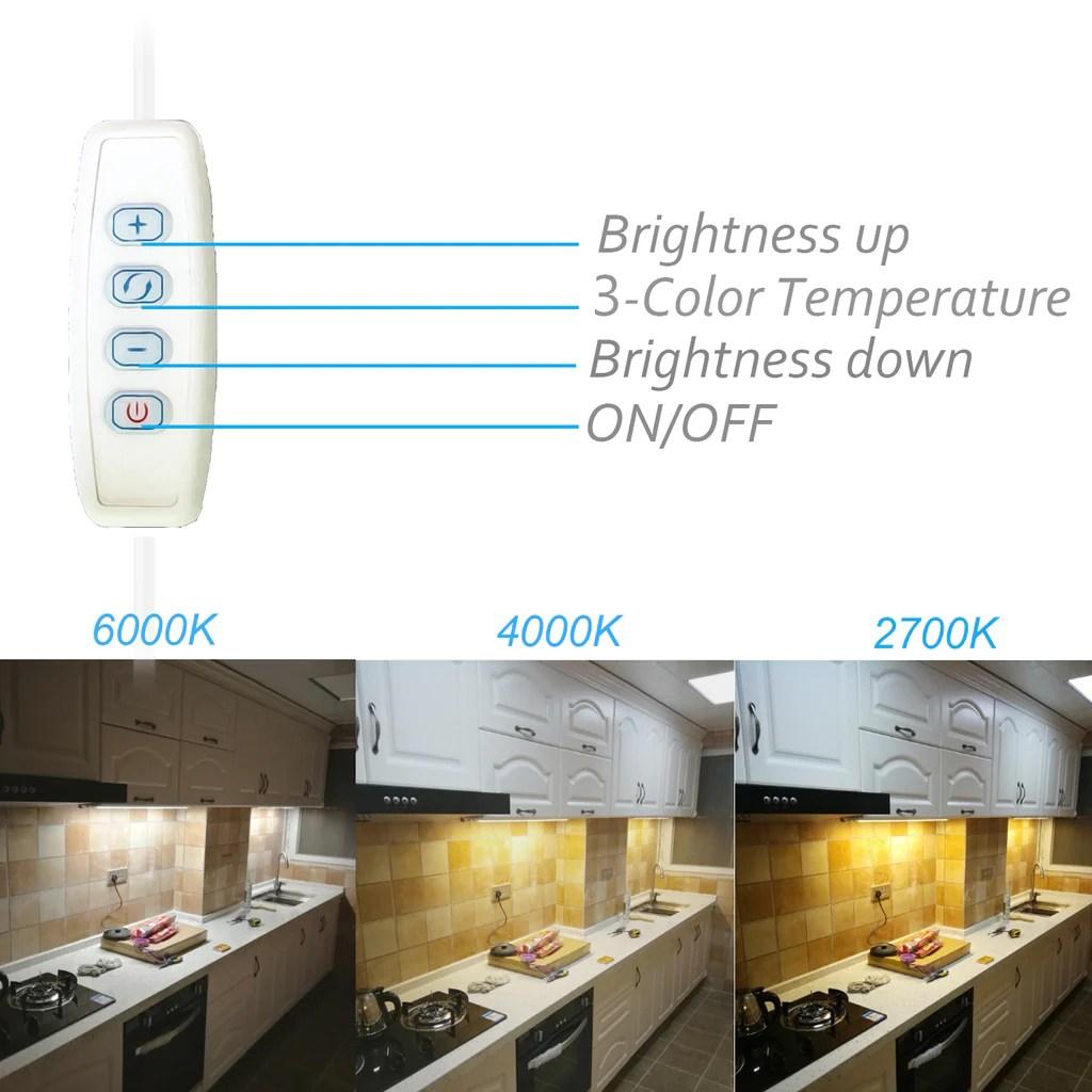 asoko led under cabinet lighting