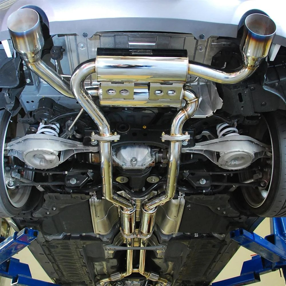 mxp sp cat back exhaust infiniti g37 coupe rwd 08 13