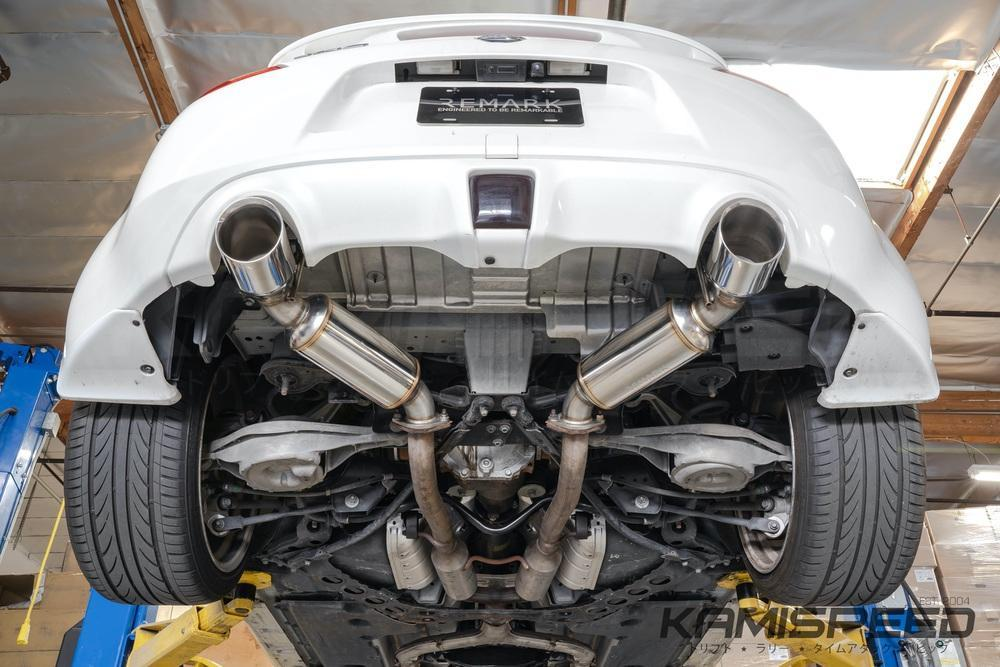 remark nissan 370z exhaust system