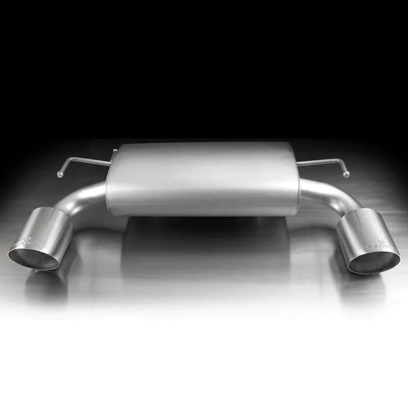 remus sport axle back exhaust 2009 2018 nissan 370z