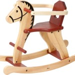 Wooden Rocking Horse Australia Classic Quality Toy Afterpay Mr Kipp Eco Toys