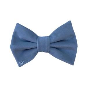 Blue Dog Bow Tie Elastic