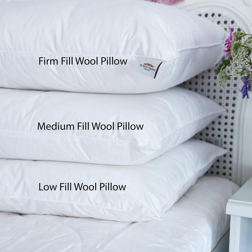 wool pillows luxury wool pillows