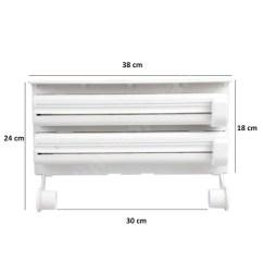 3 In 1 Kitchen Havertys Tables Wrap Dispenser Bestdealphil Material Plastic Abs Size 38 18 7 Cm