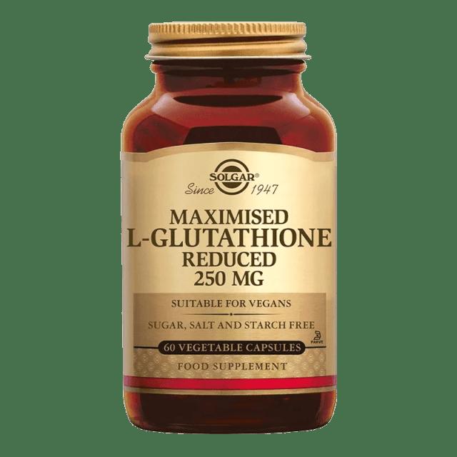 Solgar Vitamins - L-Glutathione 250 mg (Maximized)
