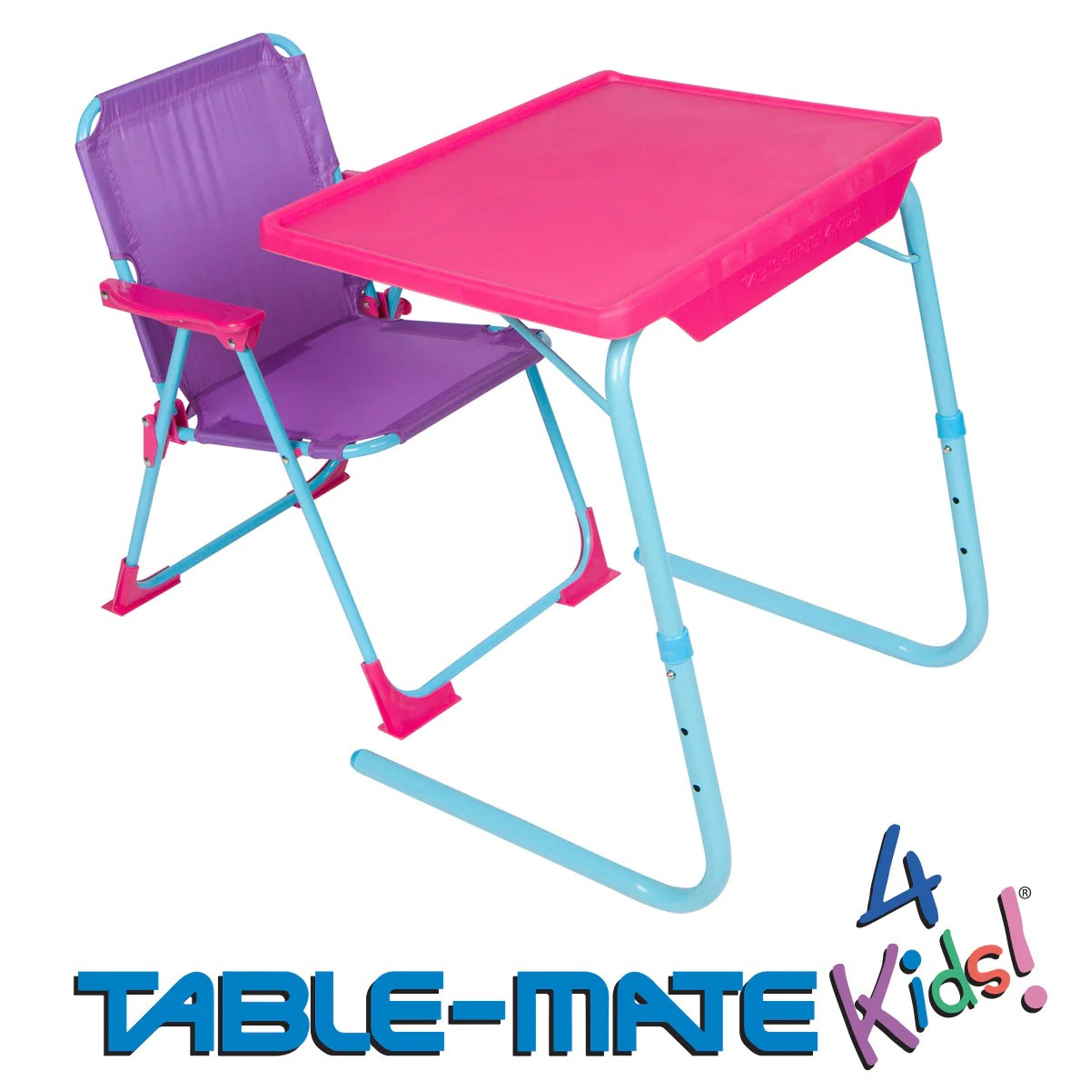 Childrens Folding Table And Chairs Table Mate 4 Kids