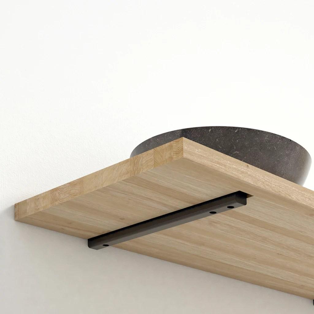 Plank Zwevend Ophangen.Steun Plank Fixman Grijze Planksteunen Displaydoos 20 St 150 X 125 Mm