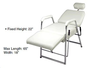 chair cba steel cover rentals table runner facial and treatment chairs ensley beauty supply pibbs sf807 mini w headrest