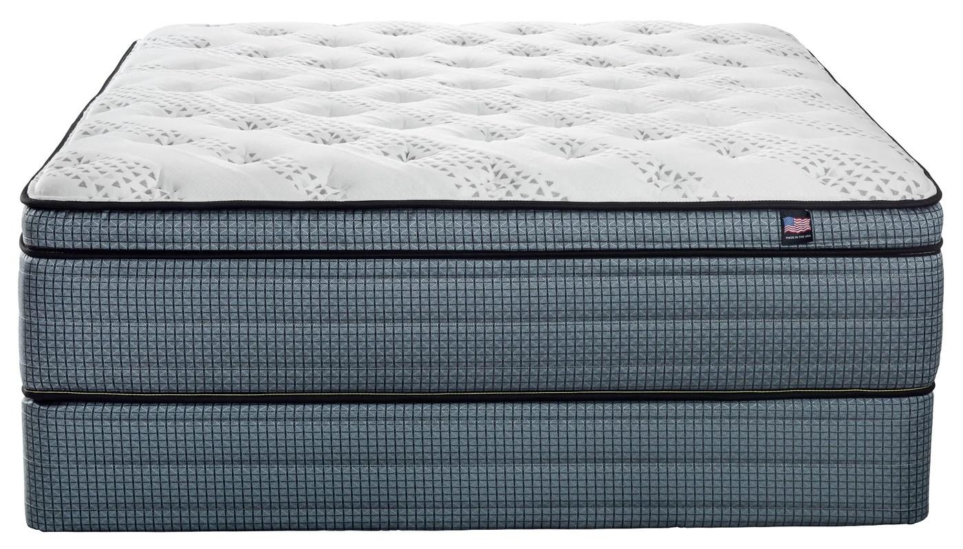innergy 2 sided monterrey pillow top mattress set
