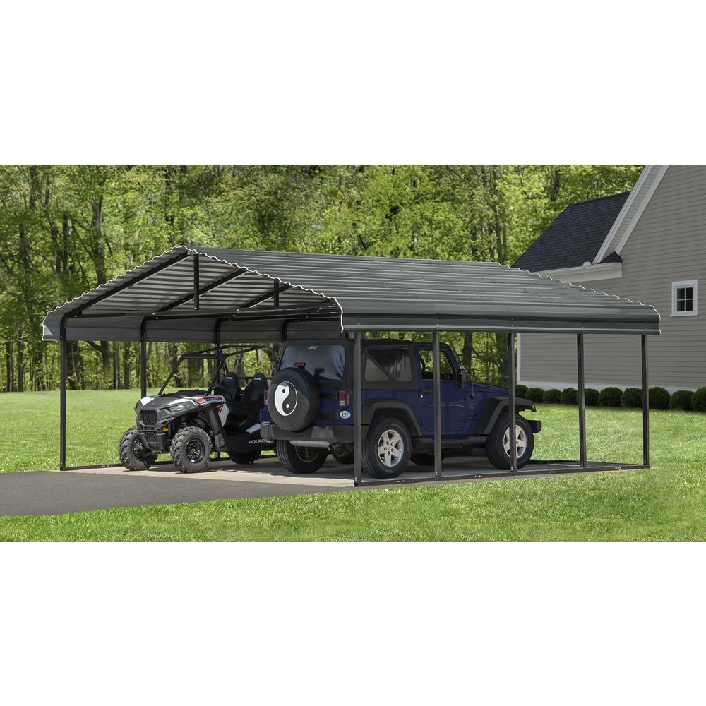 Arrow Cphc202907 Steel Carport Garage Kit World