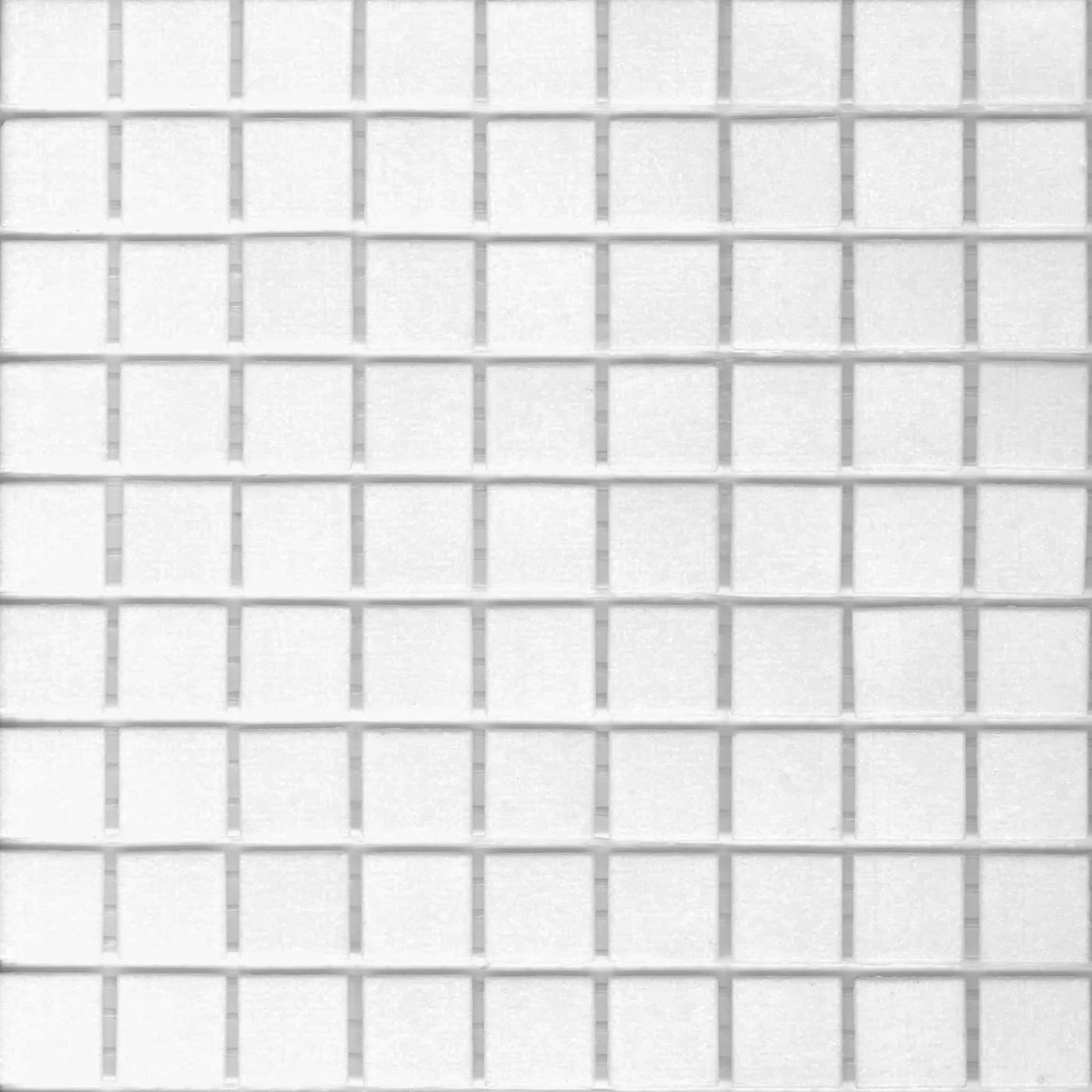 brio glass mosaic tile bright white