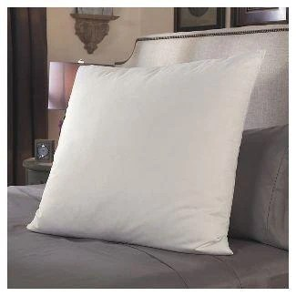 deluxe home euro pillows 28x28 square pillow insert for decorative bed pillow sham hypoallergenic down alternative fill crafted in the usa by
