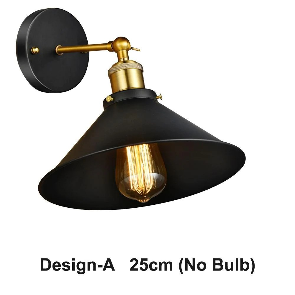 vintage wall sconce black iron retro wall lamp russia creative personality loft industrial wall lighting fixture for cafe bar