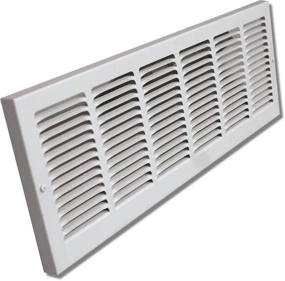 Baseboard Return Air Grille 16 X 6