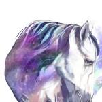 Magical Horse Art Print Nina Nou