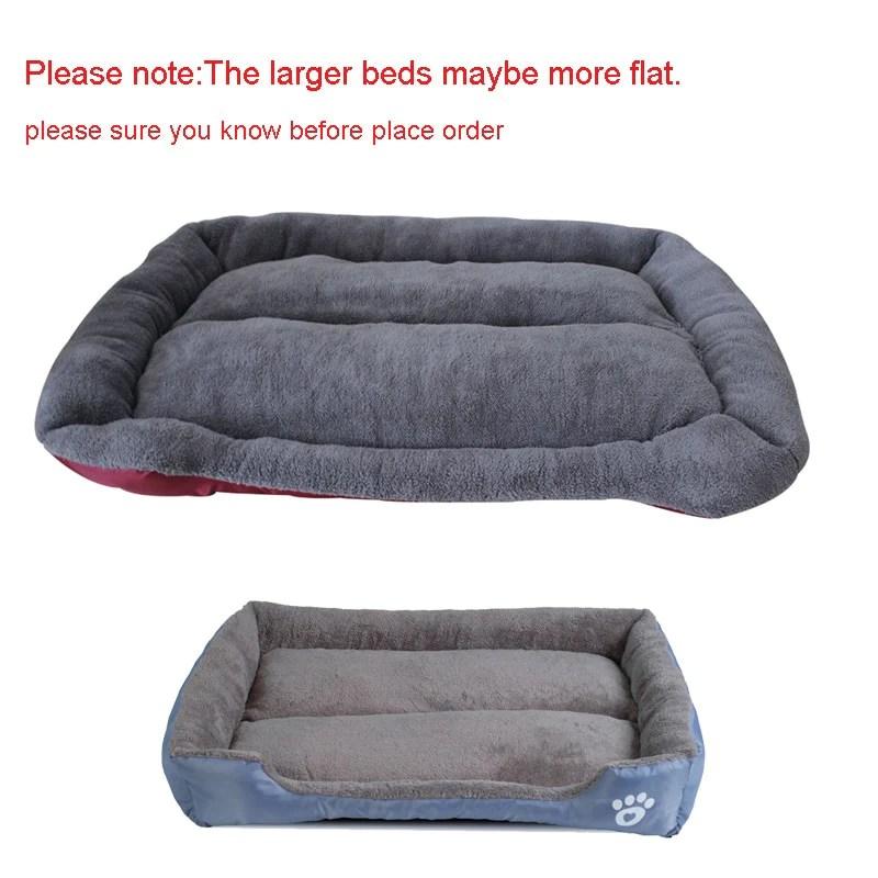 soft sofa dog bed mart enduro suede cleaner s 3xl 9 colors paw pet beds waterproof bottom fleece warm cat