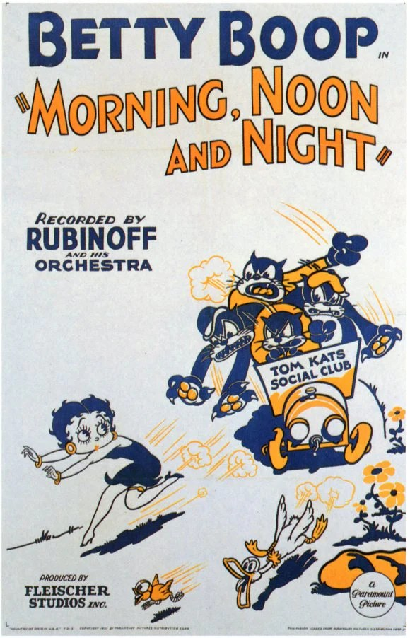 betty boop morning noon and night barefoot boy