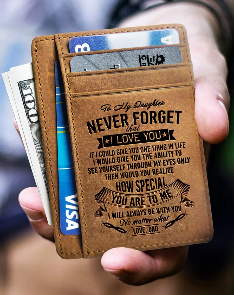 Download Card Wallet - My Daughter, Never Forget That I Love You ...