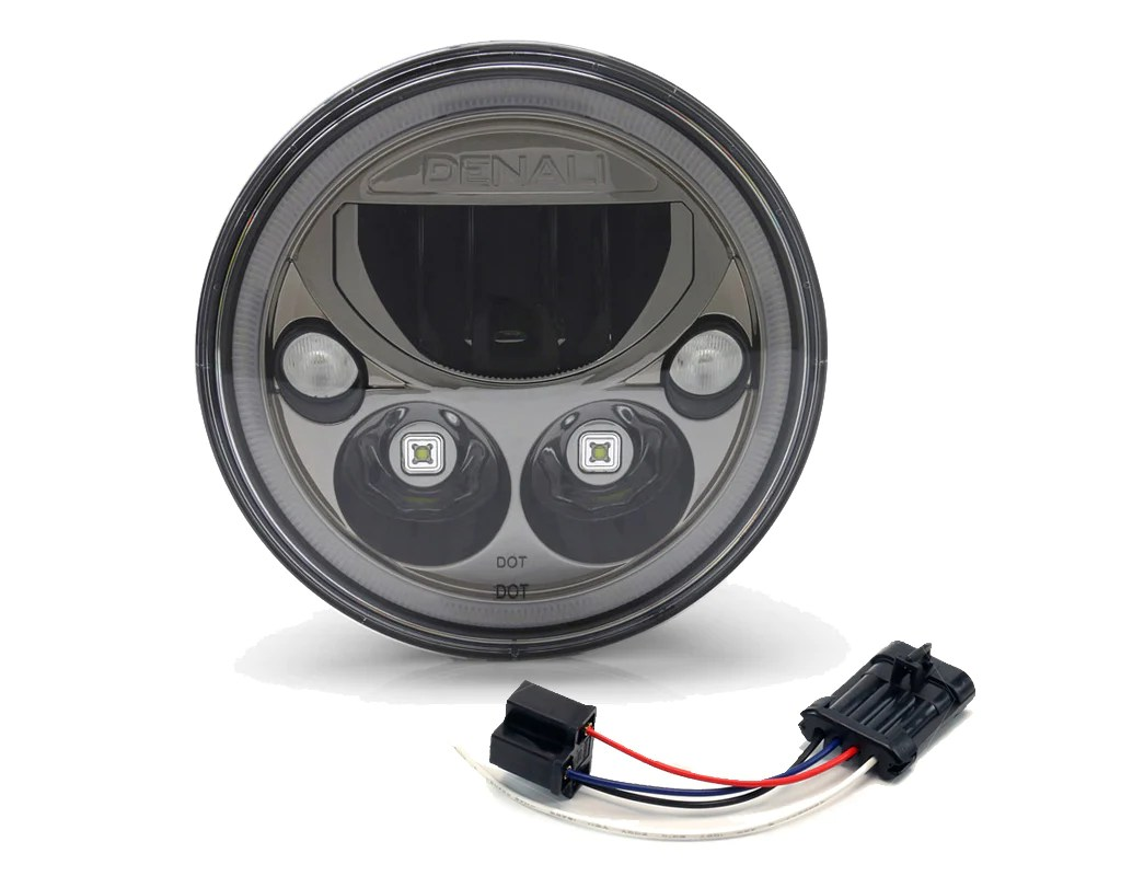 wiring adapter h4 to oem harley davidson led headlight [ 1024 x 800 Pixel ]
