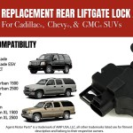 Rear Liftgate Hatch Door Lock Actuator Fits Chevy Tahoe Gmc Cadil Agent Motor Parts