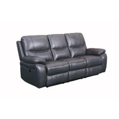 Reclining Leather Sofas Steel Frame Sofa Manufacturer Carter Power With Usb Luxury Chair Supply