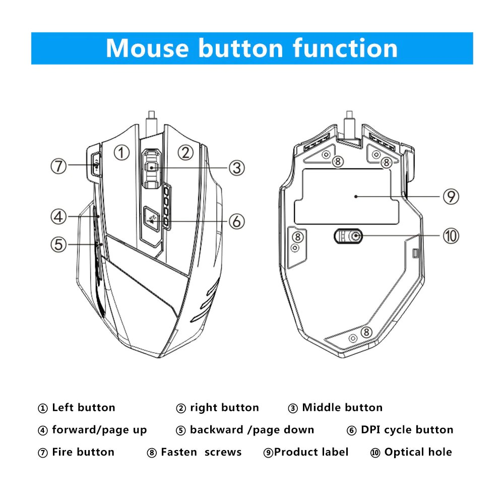 medium resolution of  load image into gallery viewer usb wired mouse mechanics feeling mouse optical mice wired mouse