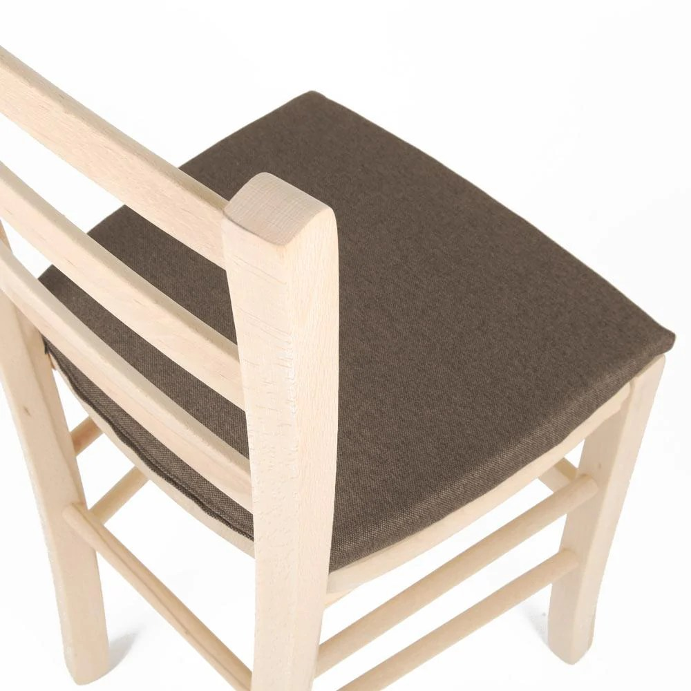 Li.g set sei cuscini sagomati per sedie in cotone panama vari colori. Cuscini Per Sedie Sagomato Da Cucina 35 40 Artigianale Sfoderabile Arketicom