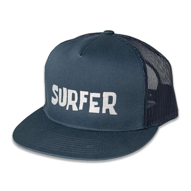 Surfer Og Logo Trucker Hat Magazine Apparel