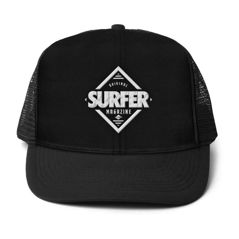 Surfer 80s Mag Trucker Hat Magazine Apparel