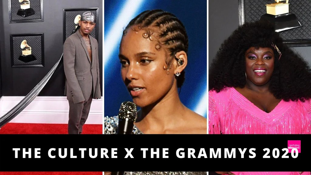Black Culture At The Grammys Natural Hairstyles Celebrities Wore