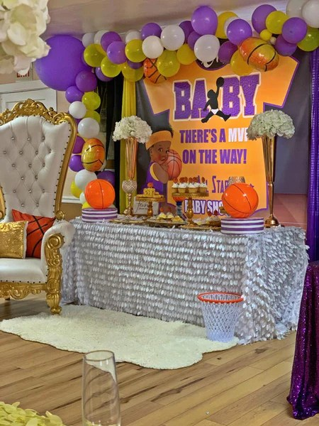 Baby Shower Backdrop : shower, backdrop, Baby!, Shower, Backdrop, Personalized, Repeat, Designed,, Banners