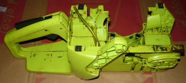 Handle Chain And Guide Bar Diagram And Parts List For Poulan Chainsaw