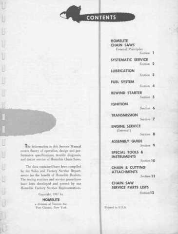 Vintage Homelite Chainsaw Serial Numbers