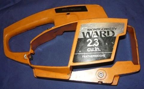 Montgomery Ward Chainsaw Parts