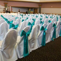 Buy Chair Covers And Sashes Hanging Rope Kit Different Types Of Wedding Simply Elegant Satin Banquet