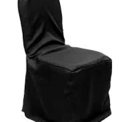 Large Banquet Chair Covers Twin Sleeper Memory Foam Mattress Polyester Rental For Black Cover