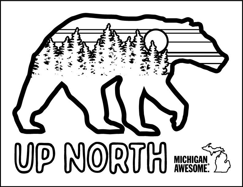Michigan Coloring Pages Michigan Awesome