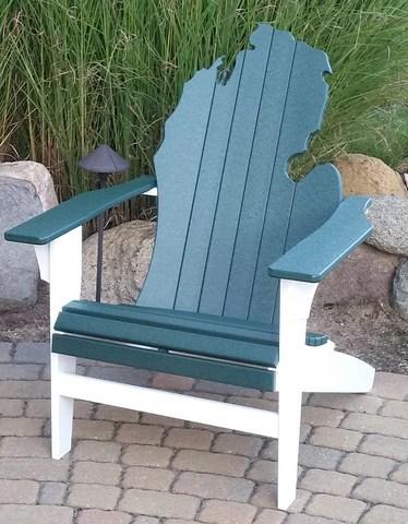 michigan adirondack chair folding beach chairs target australia awesome