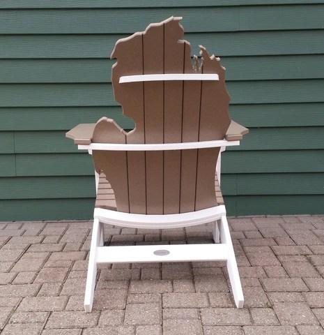 michigan adirondack chair metal papasan awesome