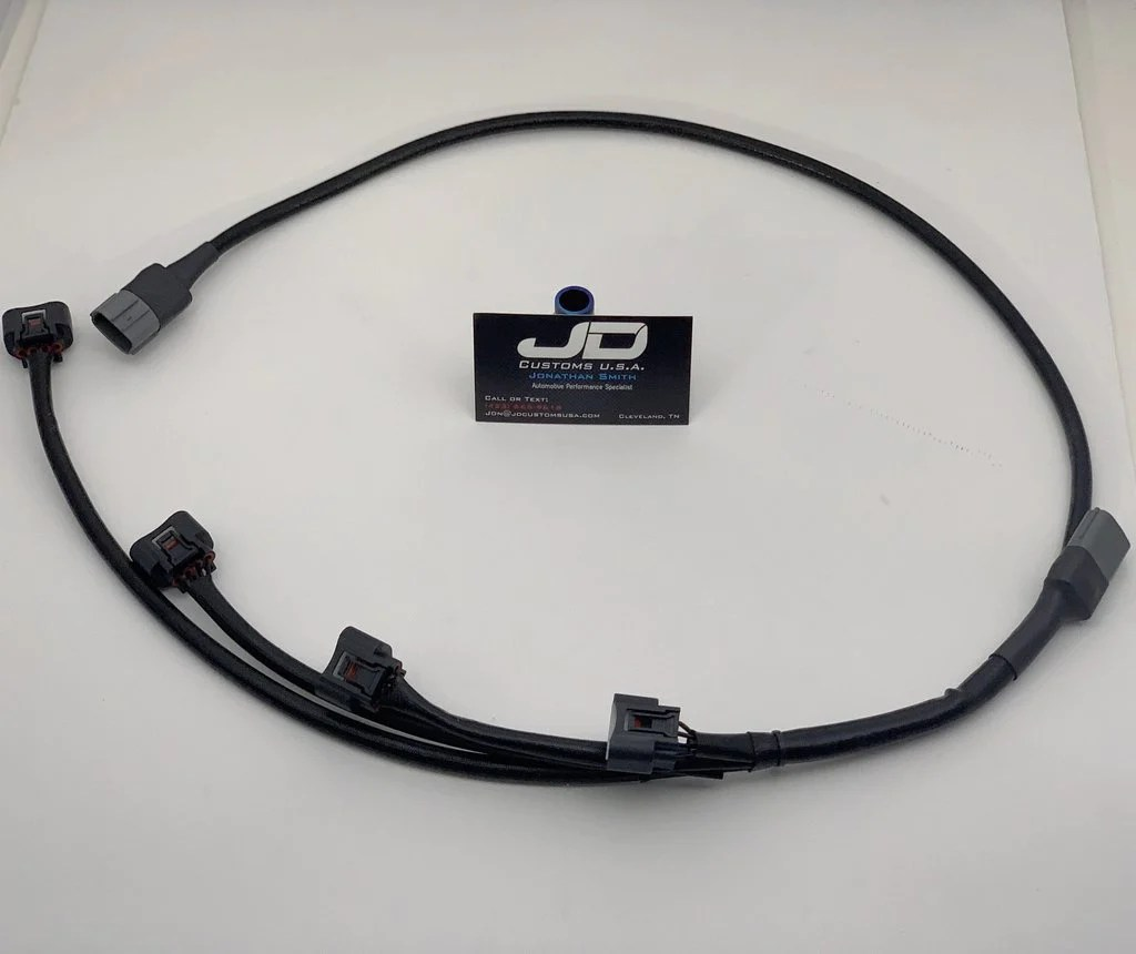 hight resolution of jdc hideaway coil on plug wire harness mitsubishi evo 4 9