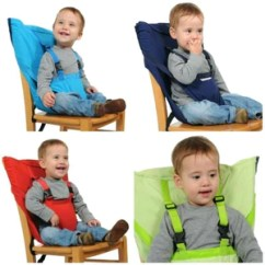 Portable High Chair Baby Rattan Cushions Highchair Seat Belt Vickypick
