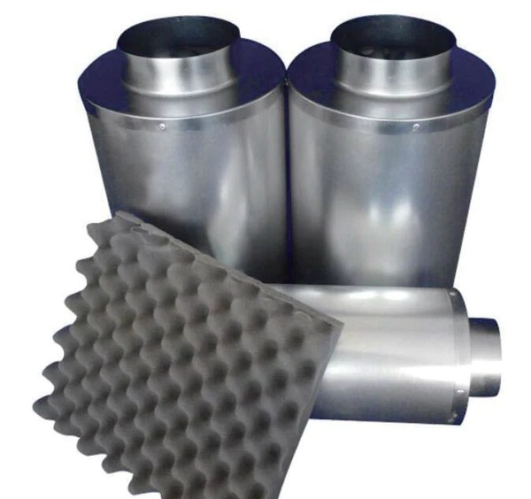 Inline Duct Silencer 10