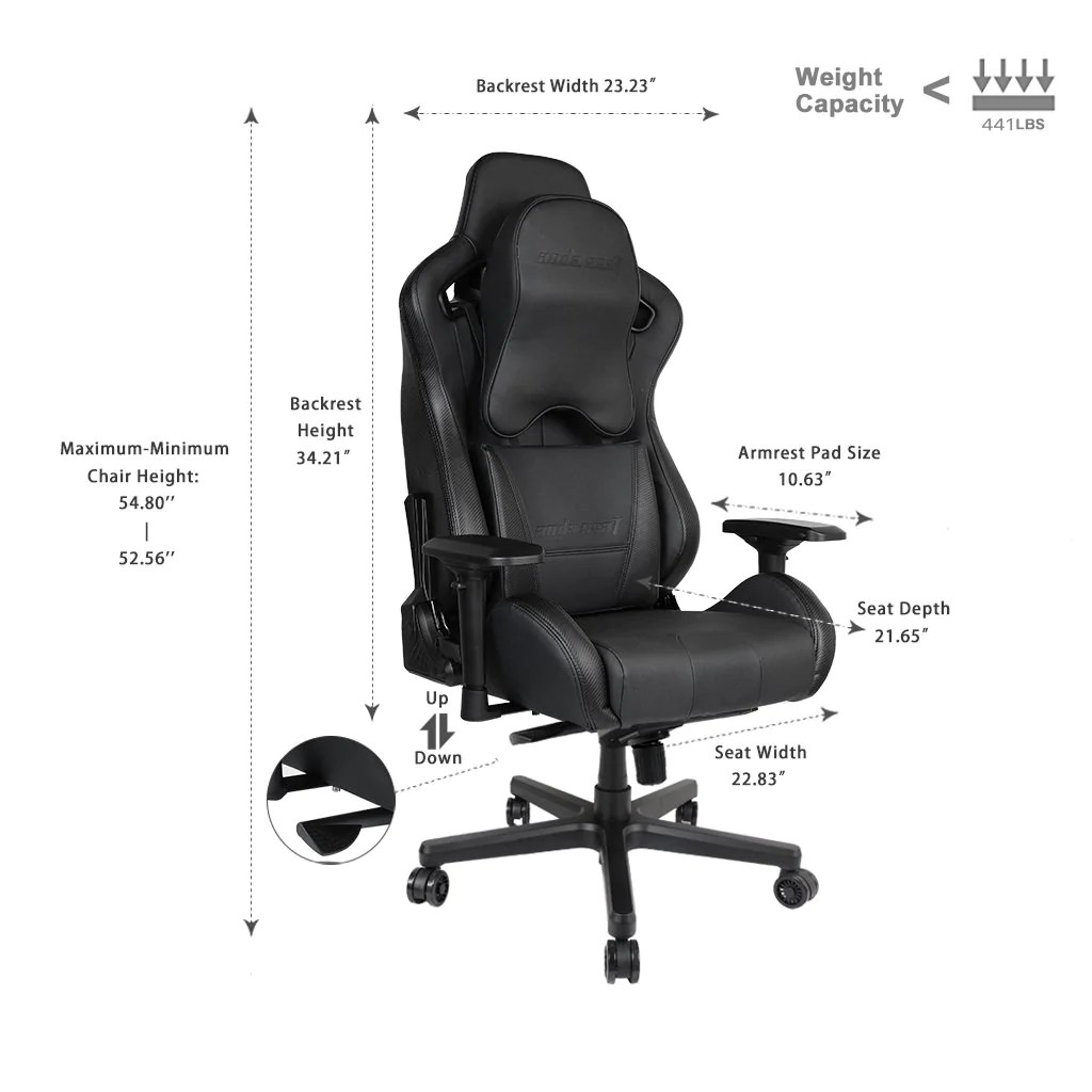 Gaming Chair For Big Guys Anda Seat Dark Knight Premium Gaming Chair King Of Gaming Chair