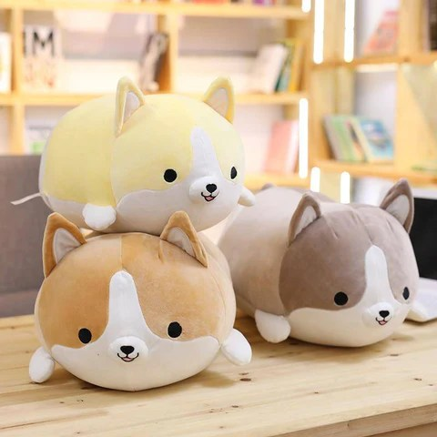 baby pillow soft corgi