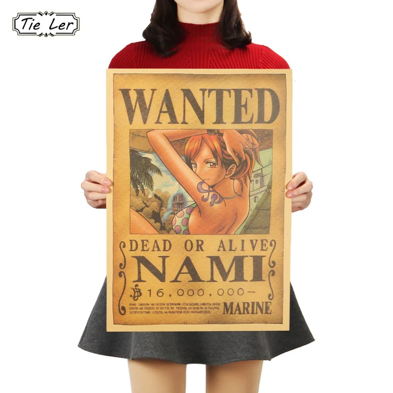 nami classic wanted poster