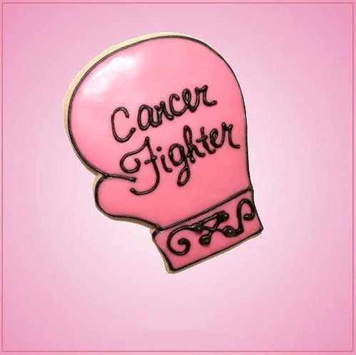 Pink Cancer Glove Fight Like A Girl Cookie Cutter  Cheap