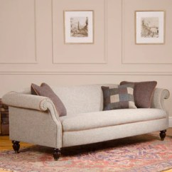 Harris Tweed Bowmore Midi Sofa Foam Fold Out Bed Uk Tetrad Ponsford